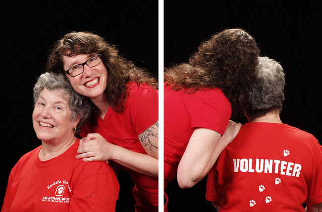 Volunteer Back and Front