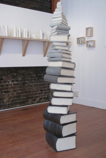 Book Stack (installation view)